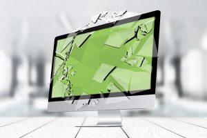 Bildschirm bleibt schwarz, Display defekt